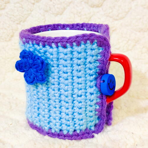 Coffee Crochet Mug Cozy Mothers Day Gift Ideas