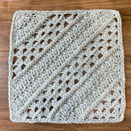 Traveling Afghan Crochet Square #15