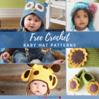 114 Free Crochet Baby Hat Patterns