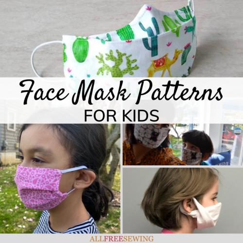 13 Diy Face Masks For Kids Free