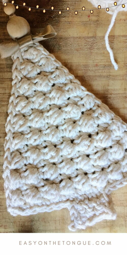 Quick & Easy Pebble Christmas Tree Crochet Pattern