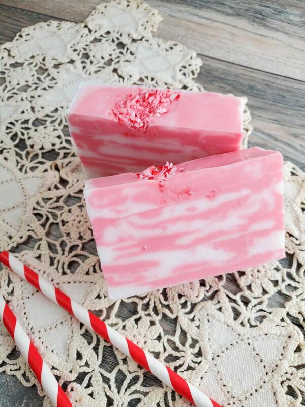 Candy Cane Soap Diy