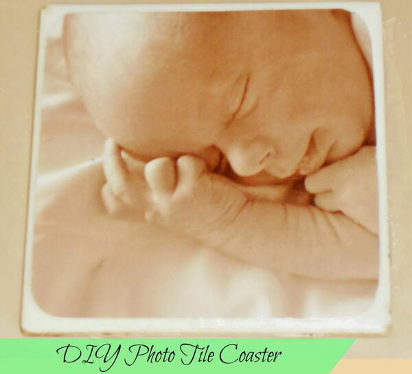 Diy Photo Tile Coaster - Handcrafted Christmas Gift To Last A Lifetime