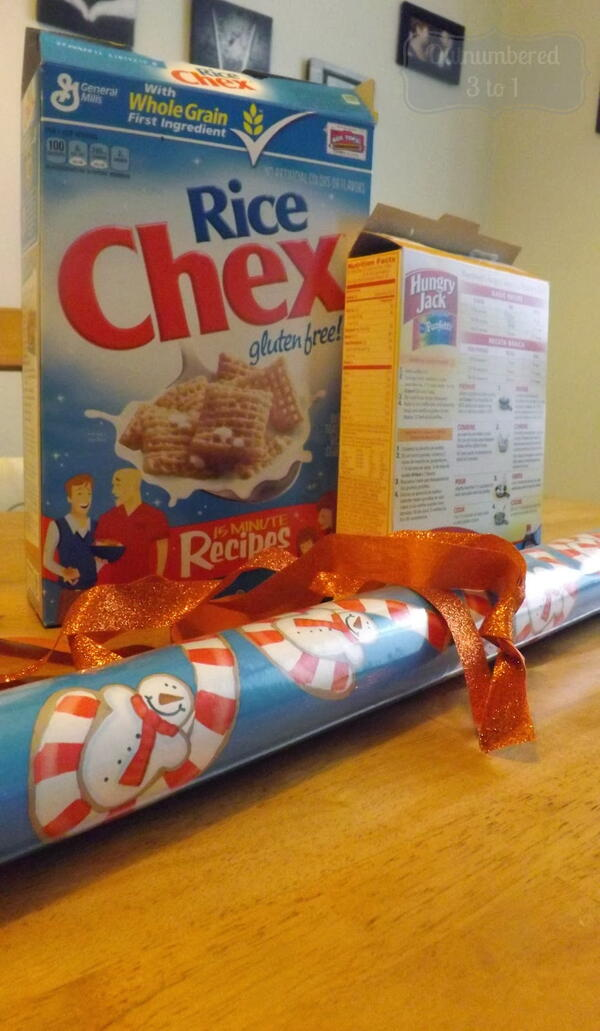 Diy Upcycled Cereal Box Gift Bags