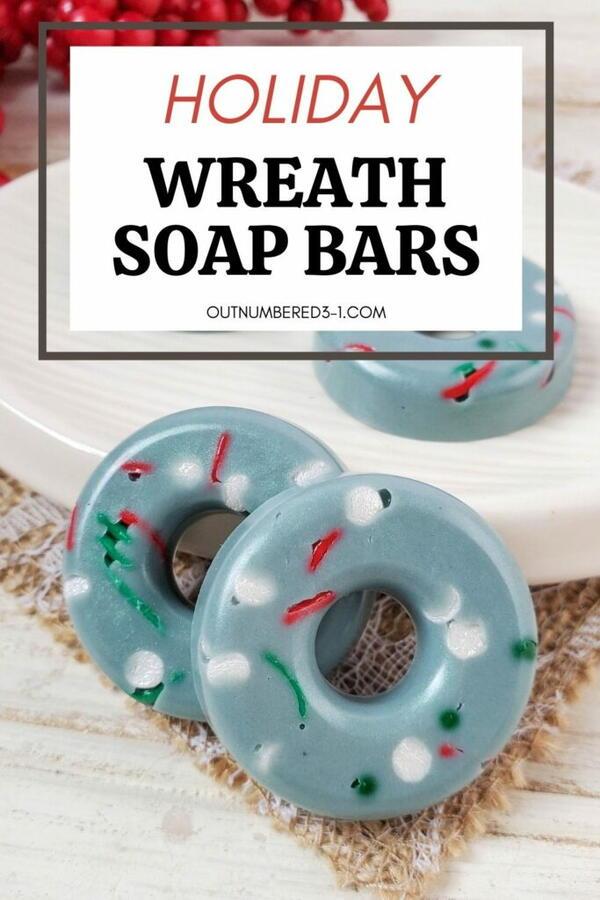 Christmas Wreath Homemade Soap Recipe