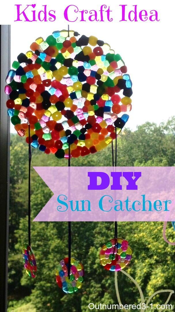 Easy Diy Suncatchers