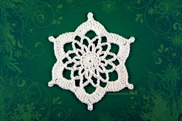 Quick And Easy Snowflake Ornament