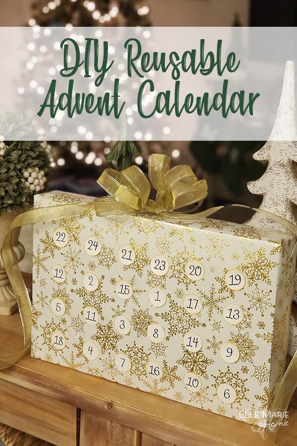 Reusable Advent Calendar