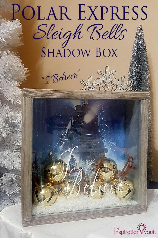 Polar Express Shadow Box